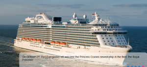 Cruise Ship - Port Everglades, a Cruise Capital of the World