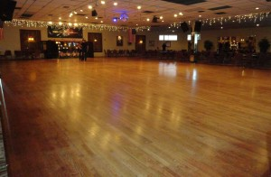 Goldcoast Ballroom - Magnificent 45' X 65' Floating Oak Dance Floor