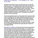 Ballroom Dance–It's Good For You