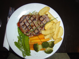Sirloin (Image courtesy of Wikipedia Commons)