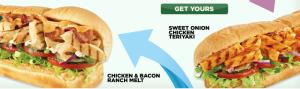 Subway - Foot Long Sandwiches