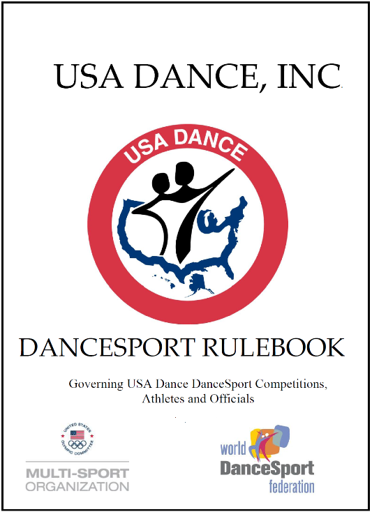 Click for link to : Official USA Dance Inc. DanceSport Rulebook