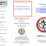 Why Dance?  Health Benefits of Ballroom Dancing (Brochure)