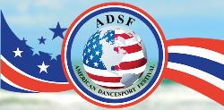 American DanceSport Festival Logo x