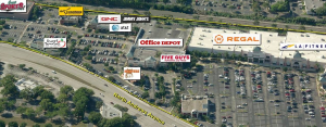 Cypress Creek Station Shopping Center - Aerial view