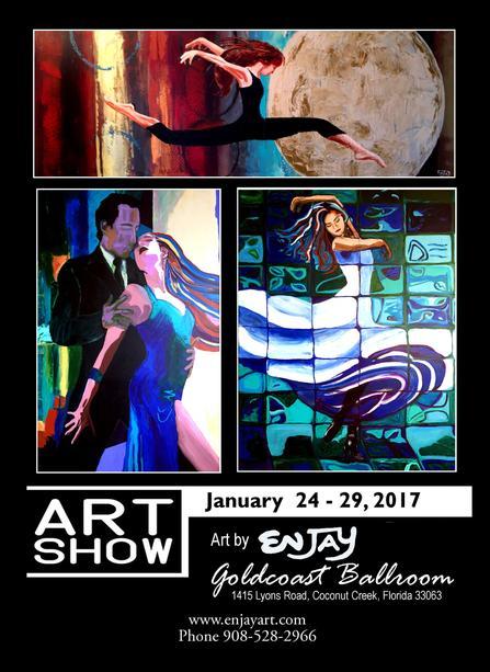 Enjay Art Show - January 24-29, 2017 at Goldcoast Ballroom