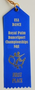Sample Ribbon - Royal Palm DanceSport Championships NQE
