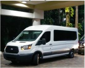 15 passenger Shuttle Bus