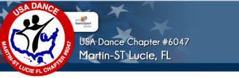 USA Dance, Martin/ St. Lucie Chapter #6047