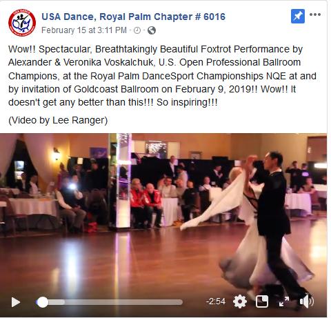 Wow! Spectacular Foxtrot Performance by Alexander & Veronika Voskalchuk