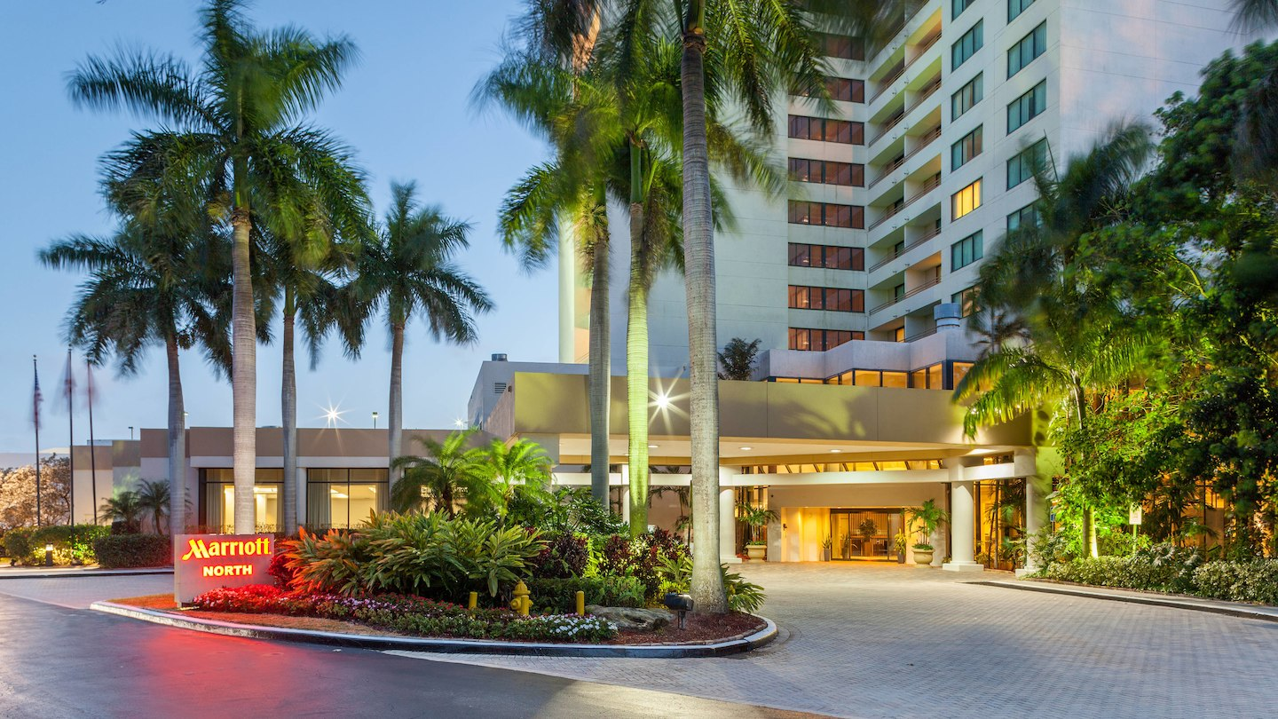 Fort Lauderdale Marriott North Hotel - 6650 N Andrews Ave, Fort Lauderdale, FL 33309