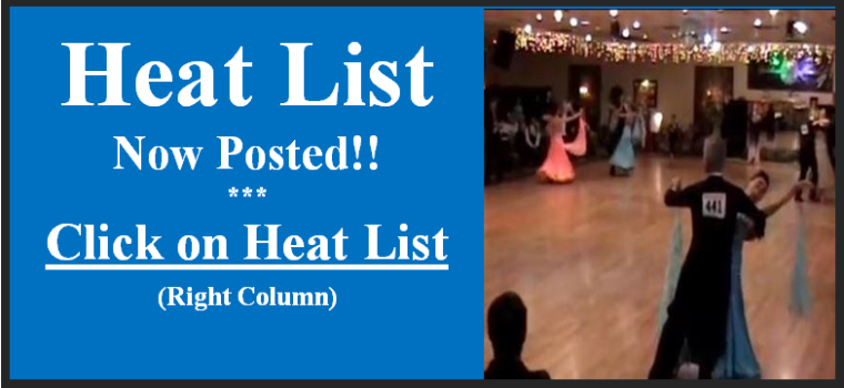 """2016 Heat List Now Posted!! - Click Here (or on """"Heat List"""" in Right Column) to View"""