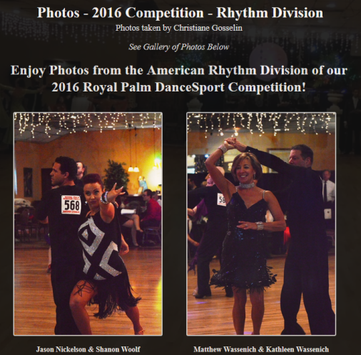 Photos – 2016 Competition – Rhythm Division