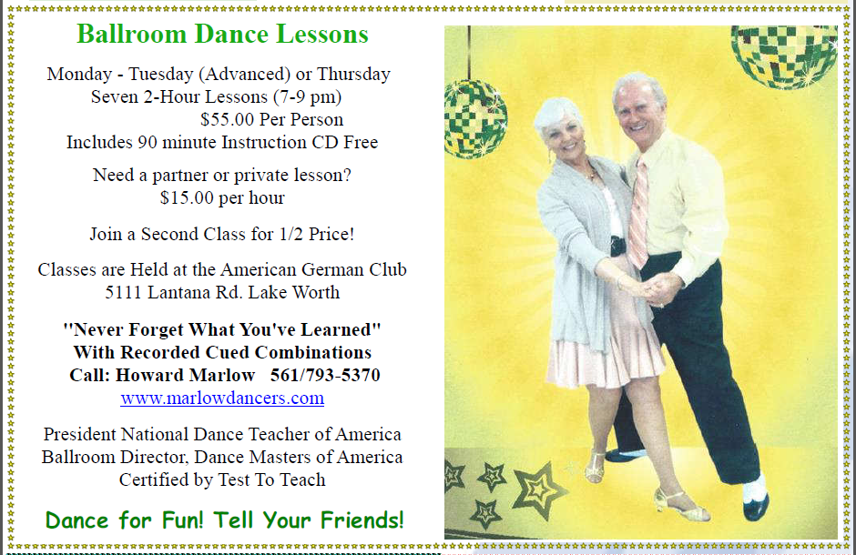 Howard Marlow - Ballroom Dance Lessons