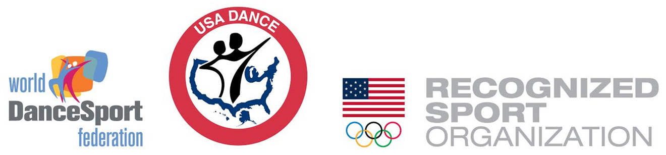 WDSF - USA Dance, Inc. - National Olympic Committee - Logos