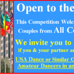 Open to the World – This Competition Welcomes Amateur, Professional, Pro/Am and Teacher/Student Couples from All Countries!!