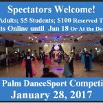 Spectators Welcome!!  Buy Your Tickets Online!!   Or At the Door.  Only $10 Adults; $5. Students; $100 Reserved Table for 10 – for All Day!