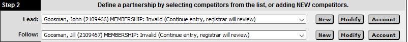 O2cm Registration - Step 2 - Goosmans