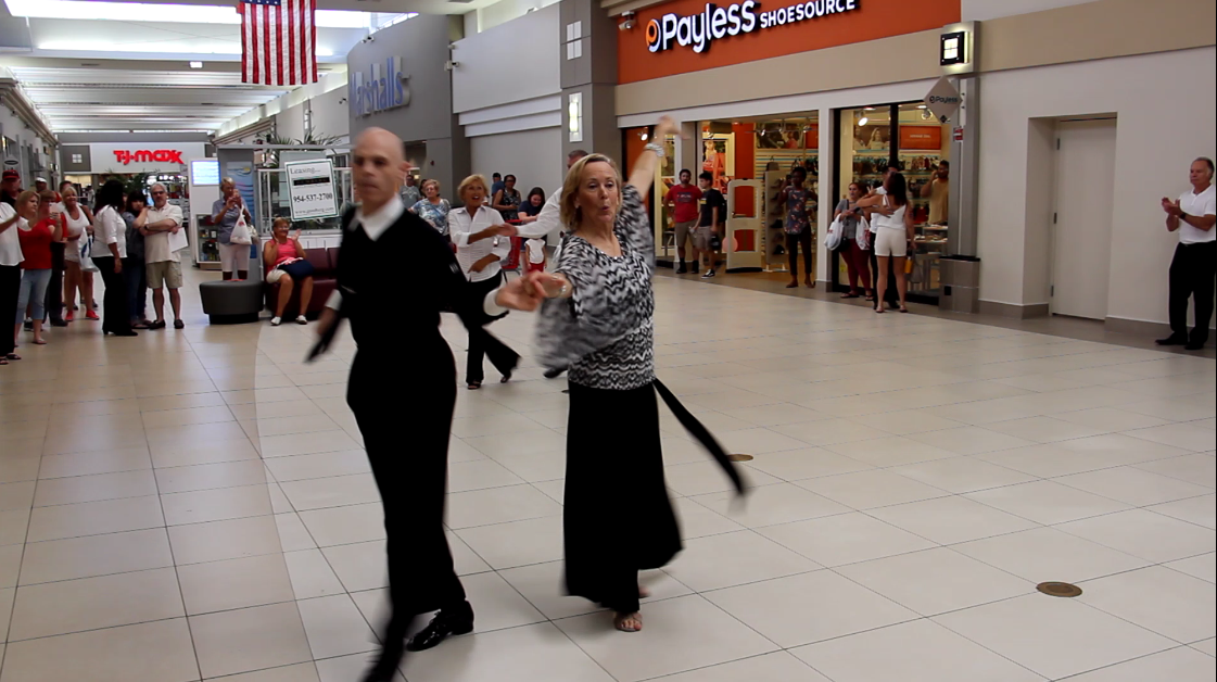 USA Dance, Royal Palm Chapter # 6016 - Cha Cha Encore - at the Coral Ridge Mall Fort Lauderdale - September 22, 2018