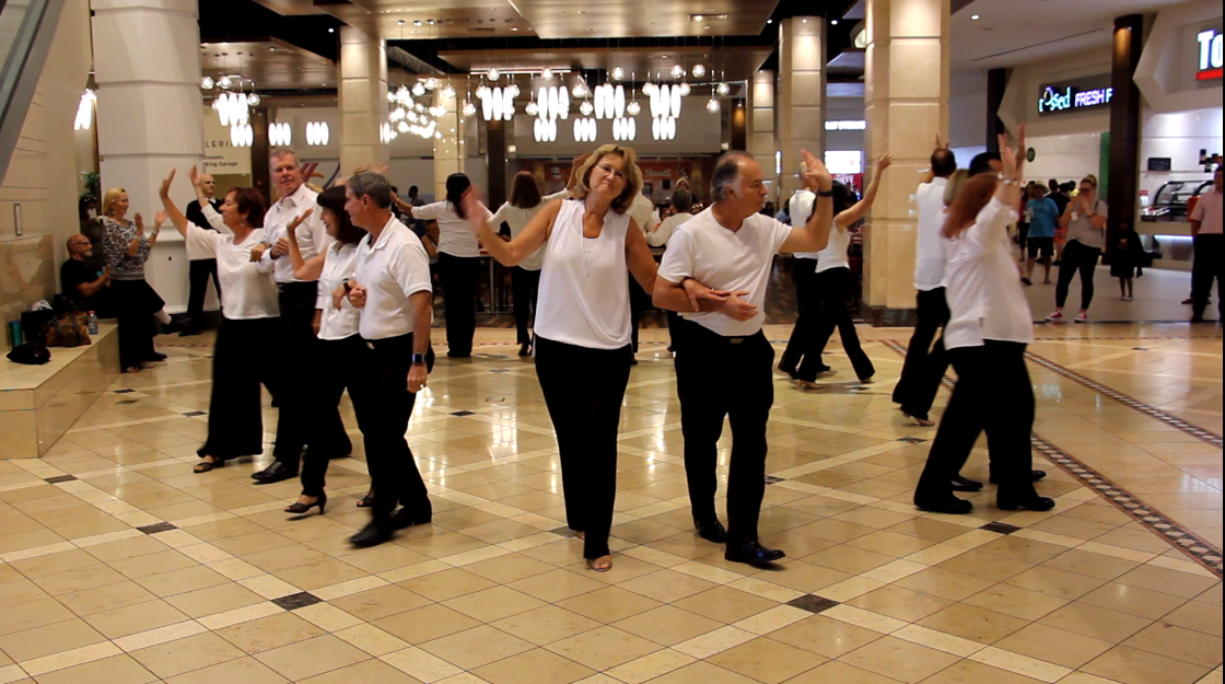 Royal Palm Chapter #6016 Dance Team performs at The Galleria At Fort Lauderdale Mall, Fort Lauderdale, FL - September 22, 2018