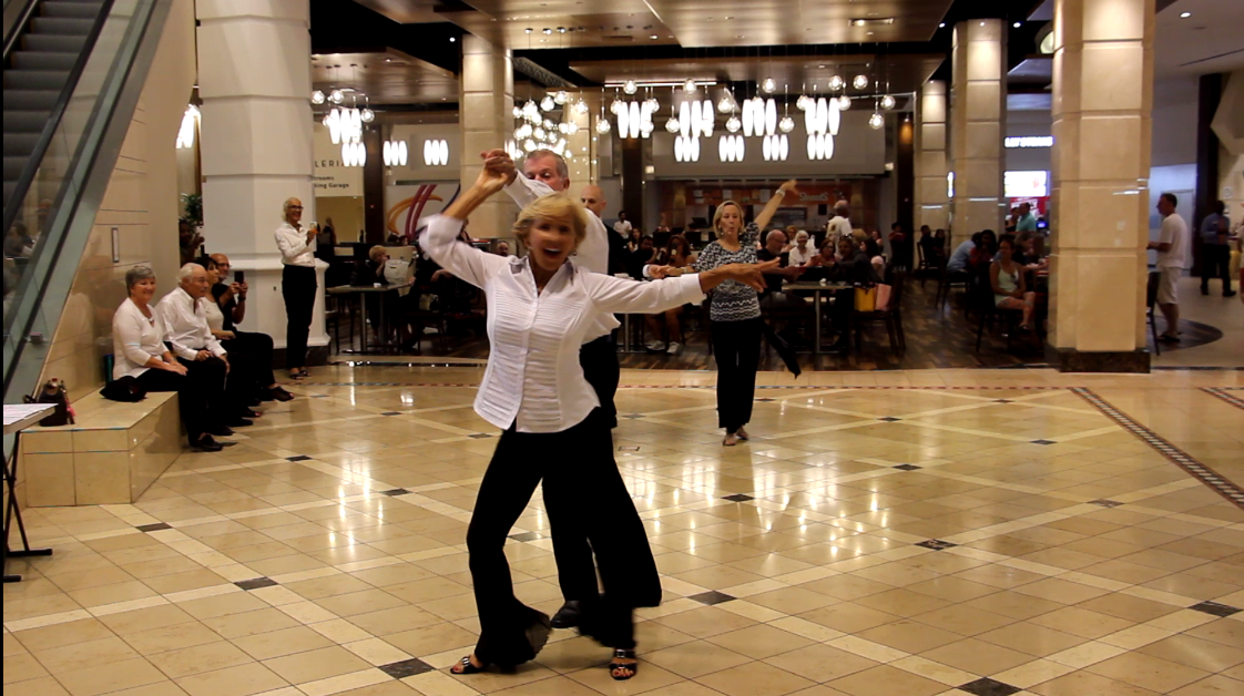 Royal Palm Chapter #6016 - Cha Cha Encore! - at The Galleria At Fort Lauderdale Mall, Fort Lauderdale, FL - September 22, 2018
