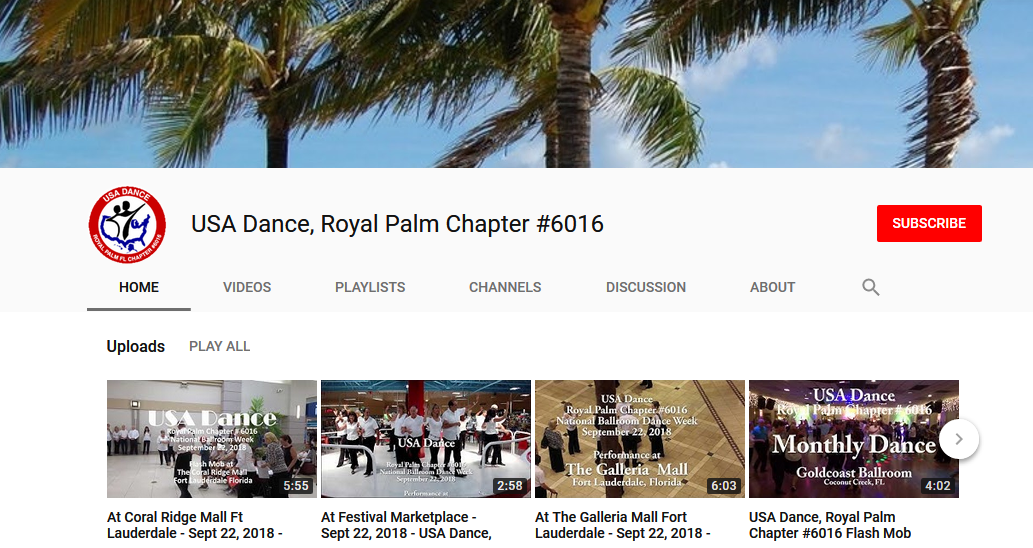 Royal Palm Chapter #6016 YouTube Channel
