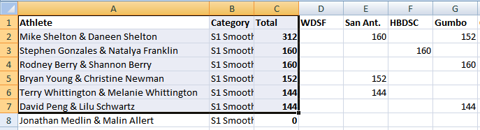 Senior I Smooth - Excel - July 1, 2019
