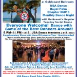 Don't Miss Our September Chapter Social Dances! – Tuesday, September 10 at Goldcoast Ballroom, Coconut Creek, FL; Thursday, September 19 at The Delray Ballroom, Delray Beach, FL;  & Saturday, September 28 at Star Ballroom, Pompano Beach, FL