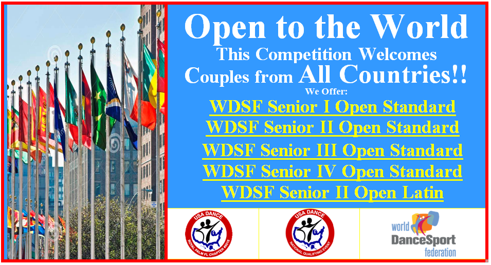2020 Royal Palm DanceSport Championships - Open to the World - WDSF Open!