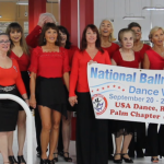 Pictures & Videos from our Royal Palm Chapter # 6016 Flash Mob Formation Team's Six Performances for National Ballroom Dance Week 2019!