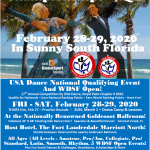 Register NOW for our Next Competition! – February 28-29, 2020!!