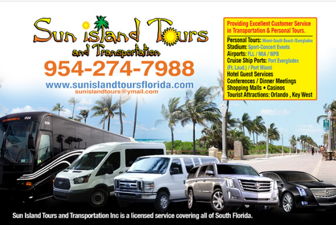 Sun Island Tours & Transportation