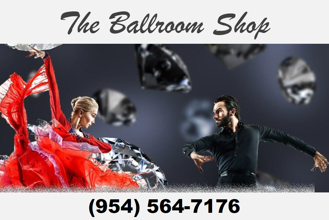 The Ballroom Shop - Dancesear, Shoes, Costumes, Jewelry