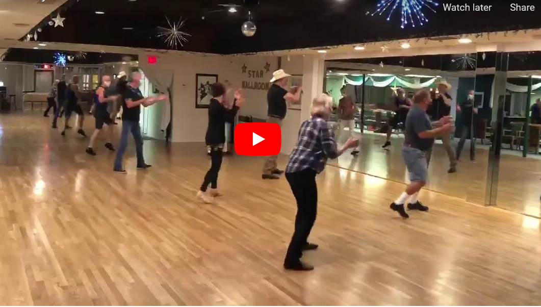 Click to View Video: Lee Fox's Country, Latin & Pop Line Dance Classes