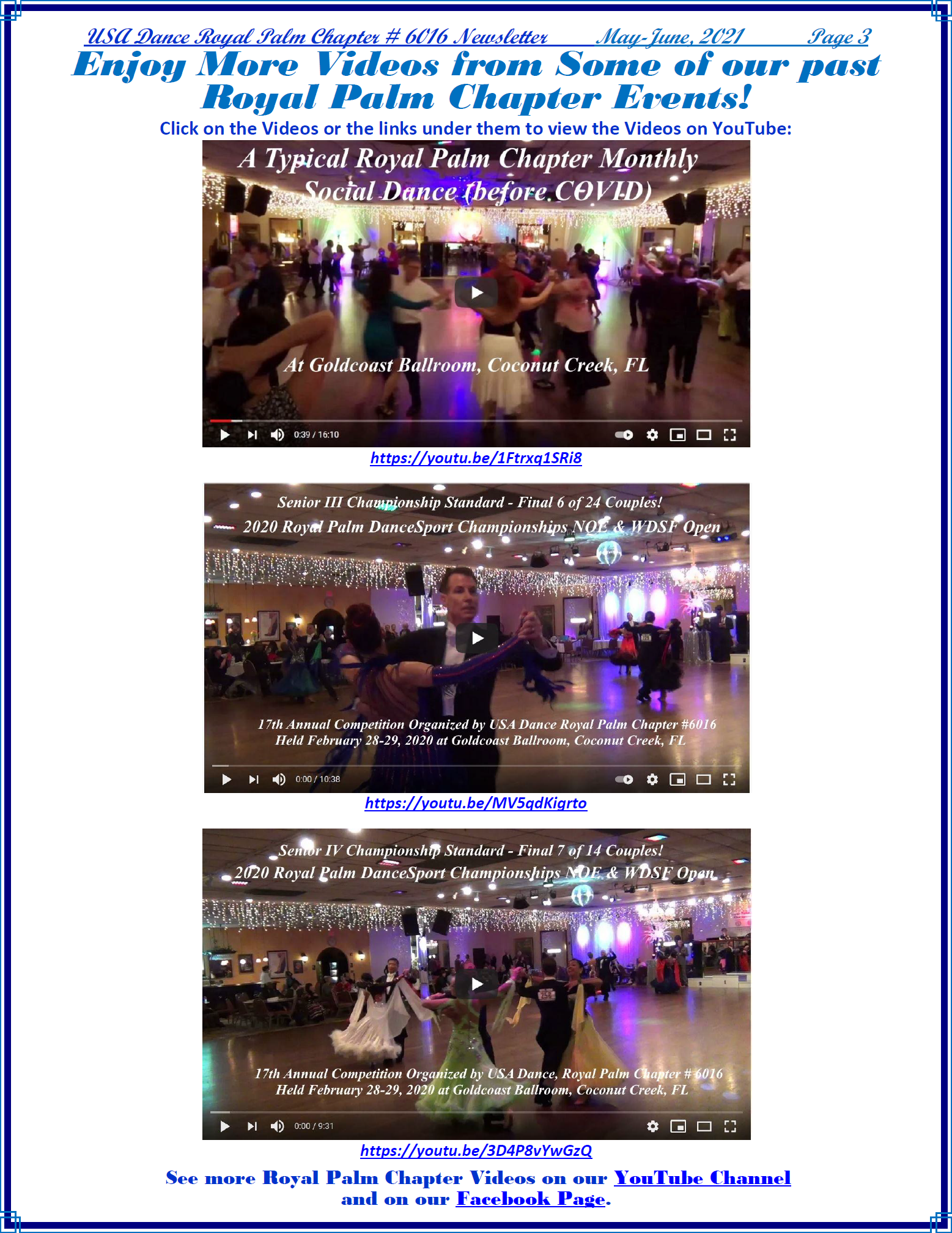 Royal Palm Chapter May-June, 2021 Newsletter - Page 3