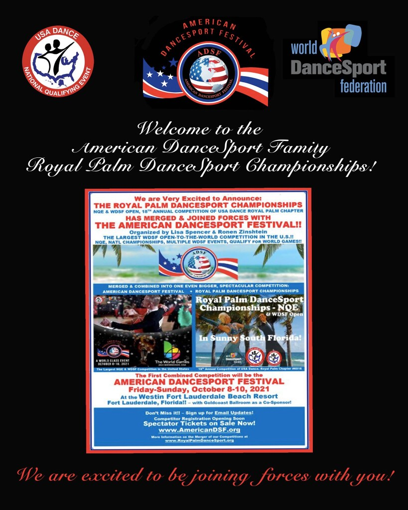 ADSF Welcomes Royal Palm DanceSport Championships to the Family!