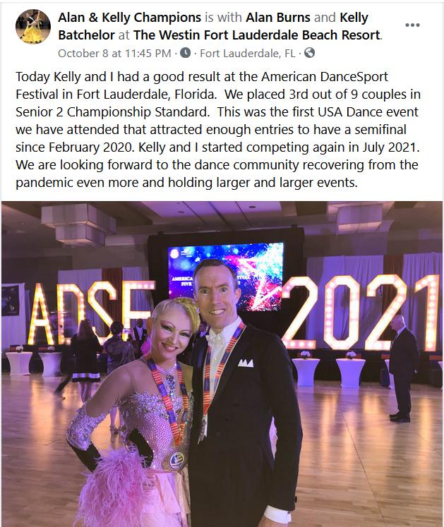 Alan Burns & Kelly Batchelor at ADSF 2021!