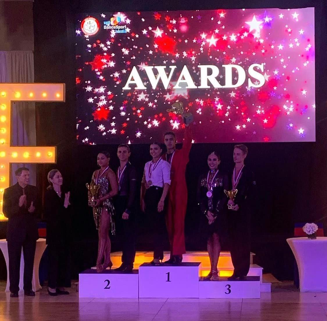 Awards - Amateur Nationals Under 21 Championship Latin