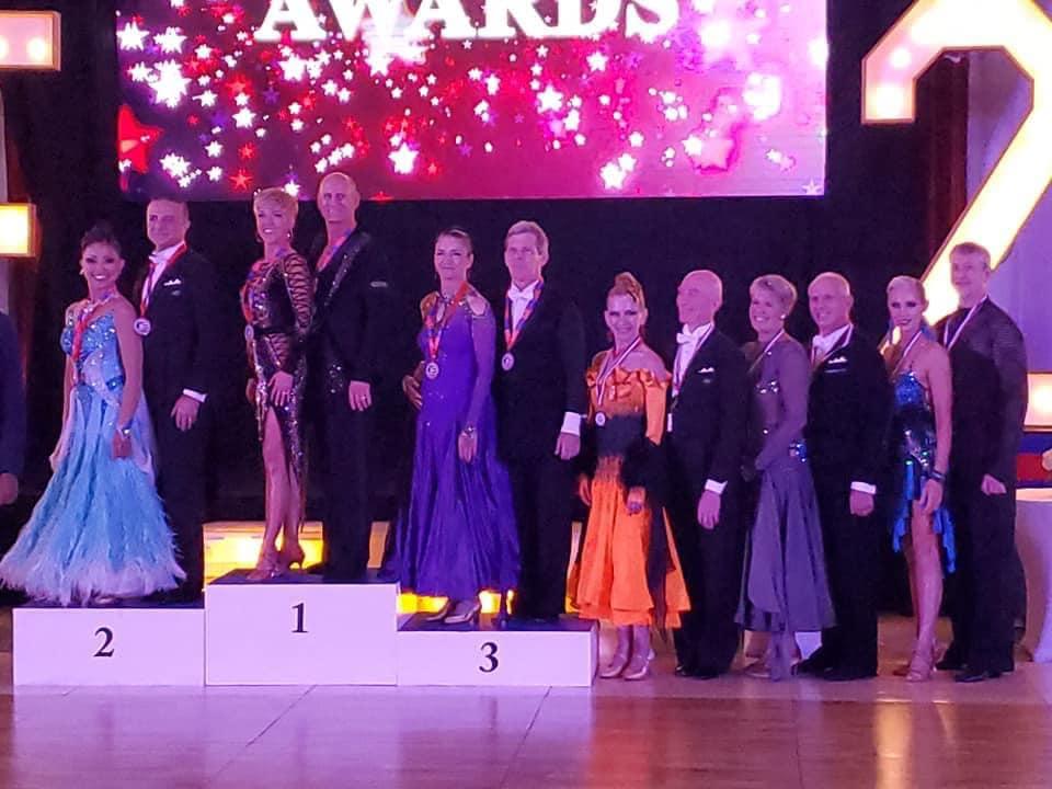 Awards - Senior III Latin Championship