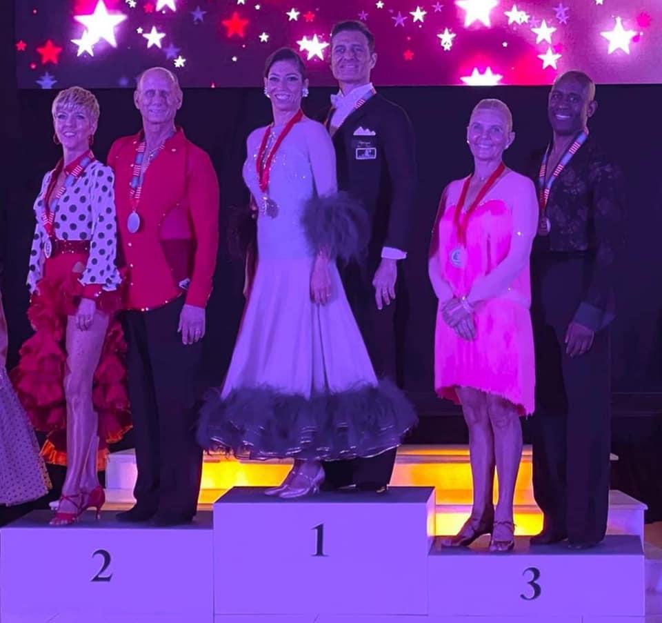 Awards - Senior II Latin Championships