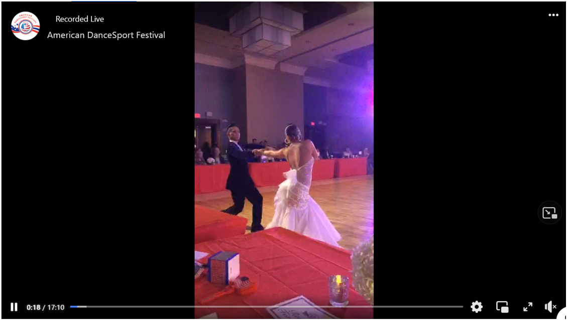 Video - Adult Smooth Championship Dance-On