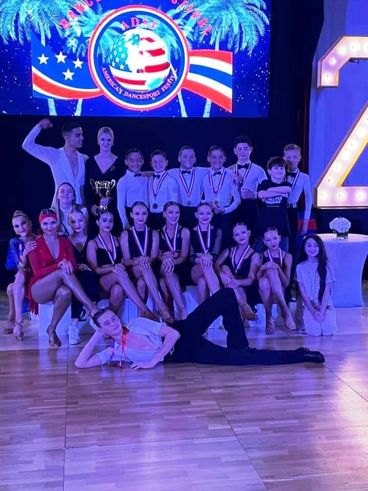 Volga Dance Academy Junior Competitors at ADSF 2021